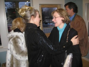 Greeting Mary Woolling, author of Joys of the Journey